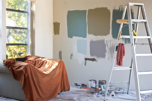 Muestra de colores pintor Caldes de Malavella