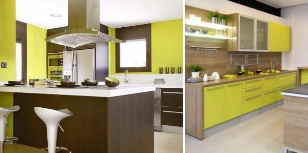 Escojer el color de tu cocina y pintar las paredes