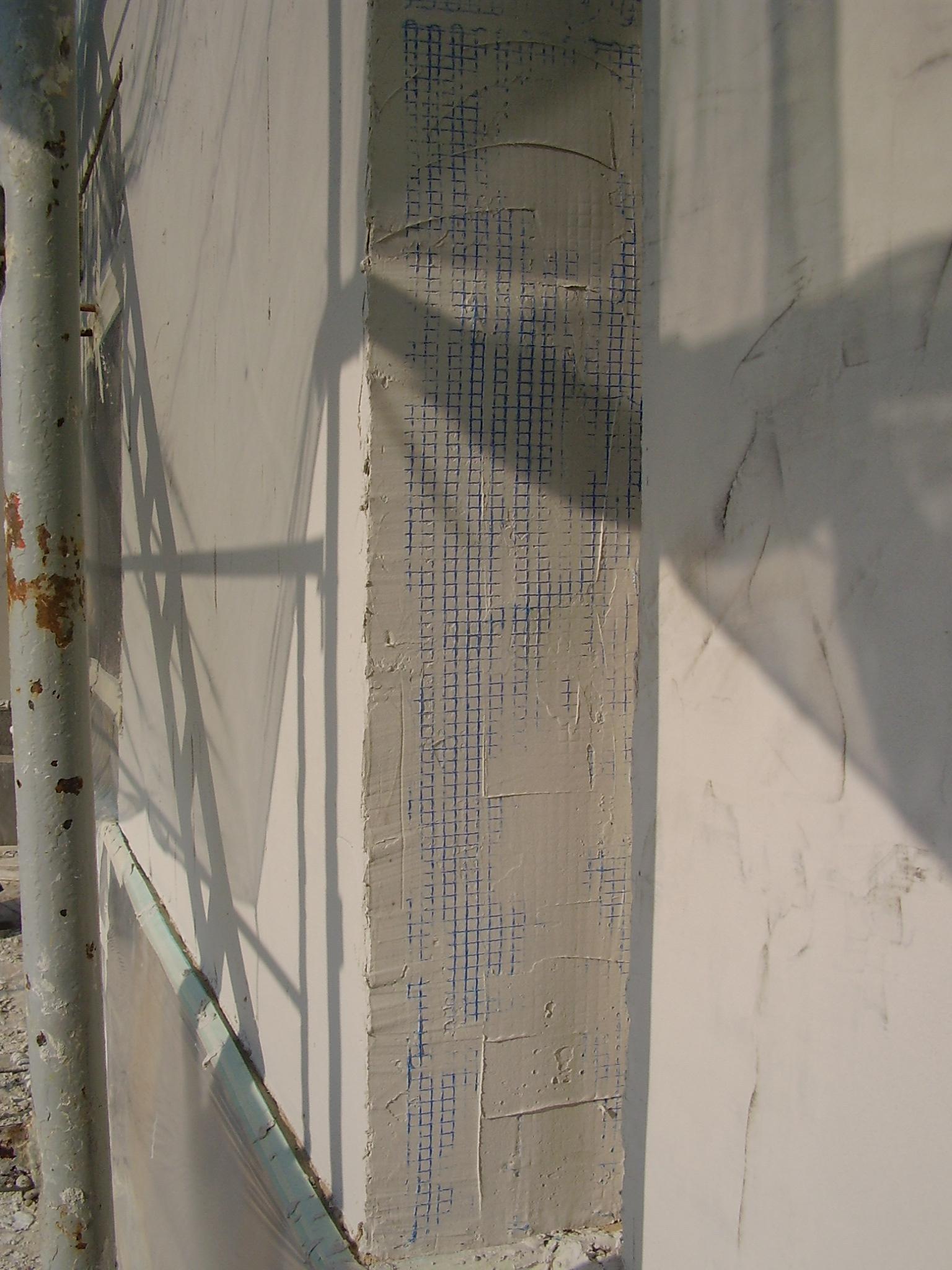 Malla antigrietas para rehabilitar fachada