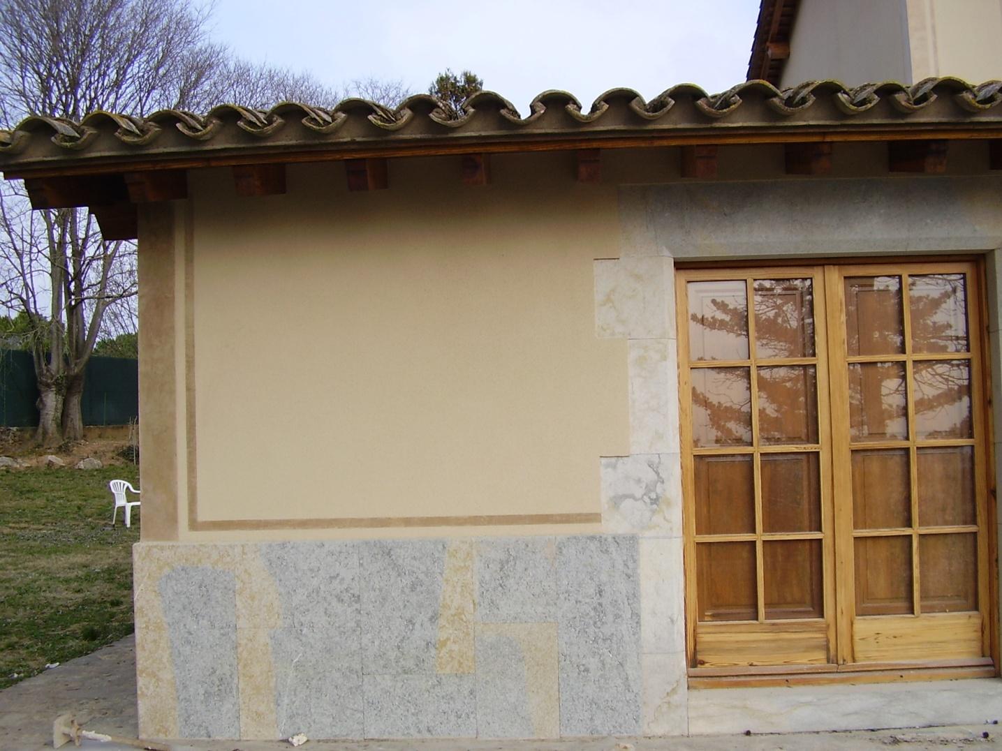 Detalles de alta decoracion en rehabilitacion de fachadas
