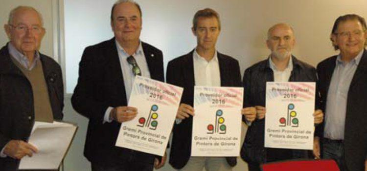 EL Gremi Provincial de Pintors de Girona signen un conveni amb els 3 fabricants més importants de pintura